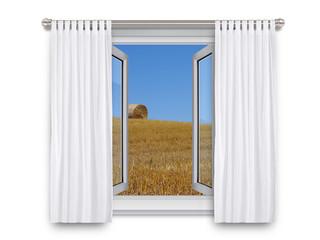 Open Window - Beach