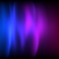 neon glow of the dark blue purple background northern lights blu