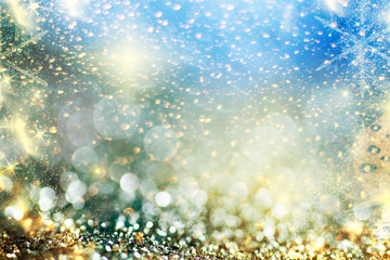 holiday abstract glitter background