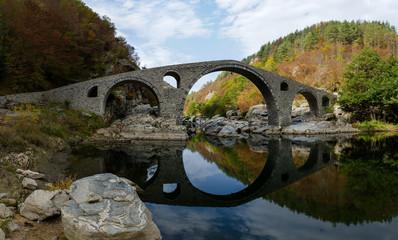 Devil bridge landmark, Bulgaria