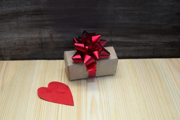 boxes with gifts on a black background,the concept of Valentine's day, anniversary, romantic gift