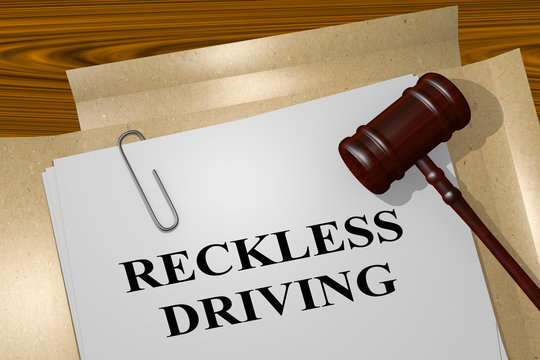 Reckless Driving - legal concept