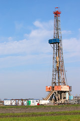 land oil drilling rig mining industry