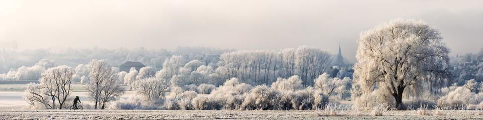 Winter Landscape Panorama, Germany