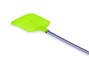 fly swatter isolate on the white