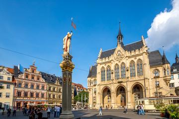 Erfurt, Rathaus, Fischmarkt
