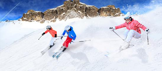 the ski race