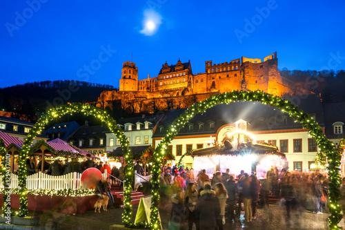 Heidelberg Weihnachtsmarkt.Heidelberg Weihnachtsmarkt Stockfotos Und Lizenzfreie Bilder Auf
