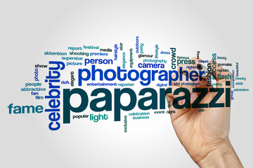 Paparazzi word cloud