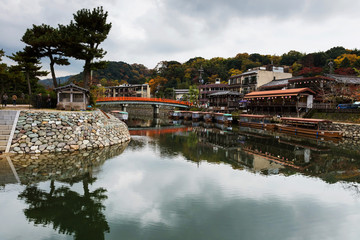 Uji city at autumn, Kyoto