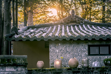 korea old house.