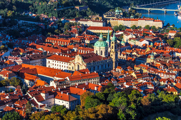 Elevated View of Prague, the Czech Republic