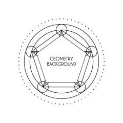 Vector Magic Geometry Background