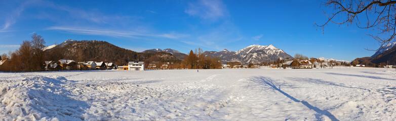 Mountains ski resort Strobl Austria