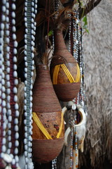 Traditional national suvenirs of Dany trible, Vamena,Papua New G