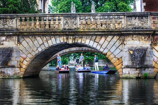 Claire Bridge at Cambridge University.