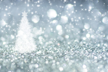 Sparkling Glitter bokeh Background.