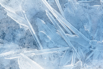 Ice blue background