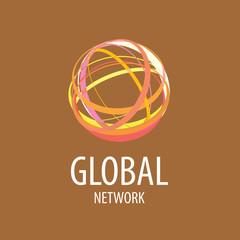 vector logo global network