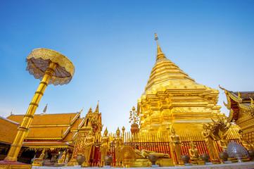 Wall Mural - Wat Phra That Doi Suthep in Chiang Mai, Thailand.