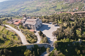 Sanctuary of Santa Margherita in Cortona