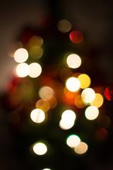 Bokeh Christmas Blurred Background