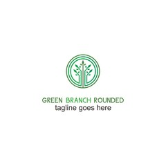 Green Brand Rounded