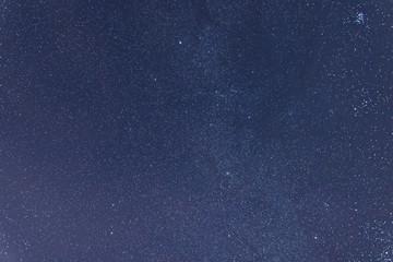 Milkyway cosmos background.Constellations Auriga, Taurus, Lynx,