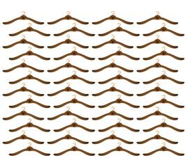 hook clothes hanger seamless pattern vector illustration eps 10