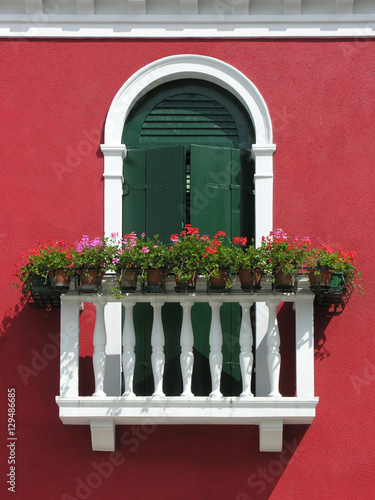 franz sischer balkon in burano venedig stockfotos und lizenzfreie bilder auf. Black Bedroom Furniture Sets. Home Design Ideas