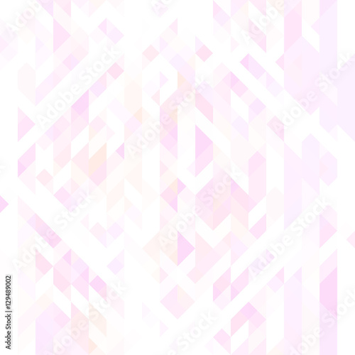 Light Pink White And Violet Triangles Geometric Seamless Texture Futuristic Pattern Can Be