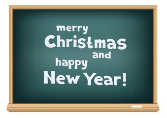 blackboard congratulations Christmas