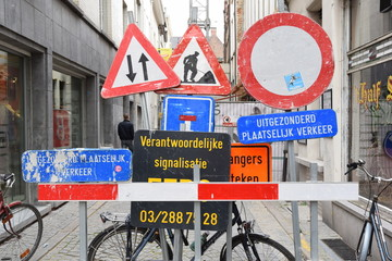 Schilderwald. In Antwerpen