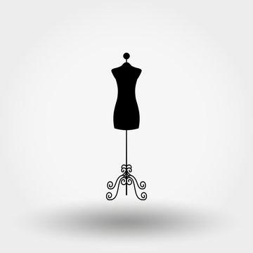 Vintage tailor mannequin.