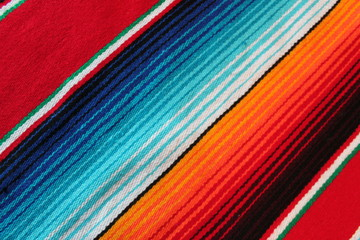Mexico Mexican traditional cinco de mayo rug poncho fiesta background with stripes stock, photo, photograph, picture, image,