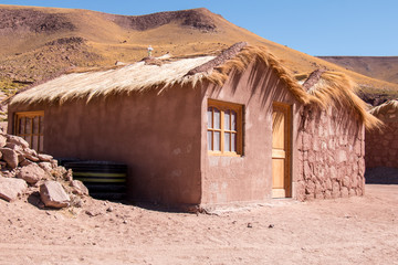 Machuca in Atacama Desert, Chile.