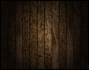 old wood background. Vector