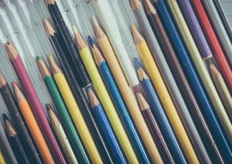Old multicolor pencil