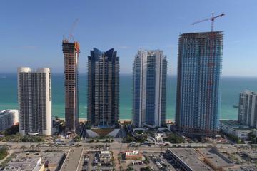 Sunny Isles Beach highrise buildings