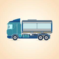 Truck. Vector illustration