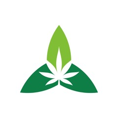 marijuana logo. cannabis logo. medical.