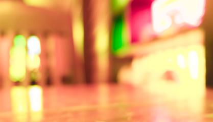 Blur coffee shop - vintage effect