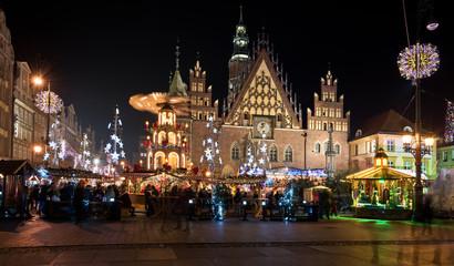 Foto op Aluminium Shanghai Holyday Time. Wroclaw, Poland.