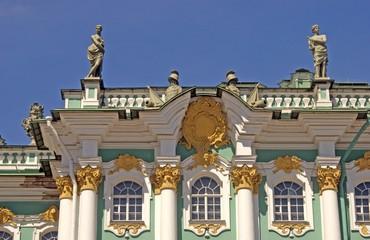 Hermitage museum in Saint-Petersburg city, Russia.