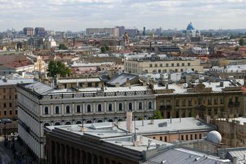 View of Saint-Petersburg city, Russia.