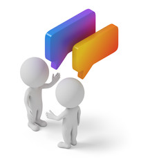 isometric people - dialog