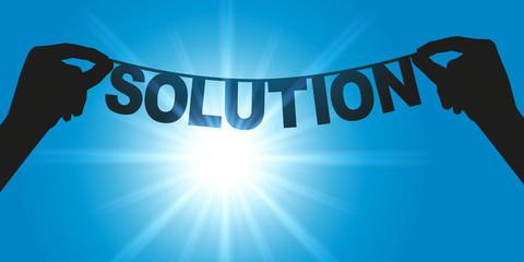 Solution - Mot - succès