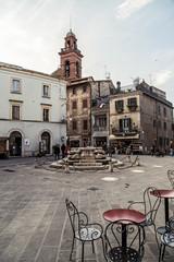 Castiglione del Lago (PG) - piazza Mazzini