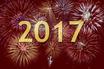 Großes Brillantfeuerwerk an Silvester 2017