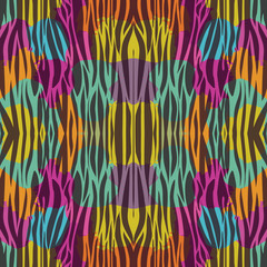 Animal print background. Pattern wallpaper texture skin theme. Vector illustration